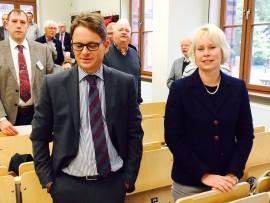 Prof. Dr. Thomas K. Kuhn und Prof. Dr. Gury Schneider-Ludorff in Greifswald