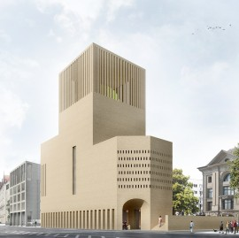 Das geplante House of One in Berlin