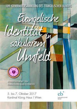 Plakat zur 109. Generalversammlung