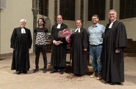 Einführungsgottesdienst für Dr. Hanne Lamparter und Dr. Richard Janus